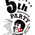 STEREO RECORDS 5周年PARTY!! 10/29